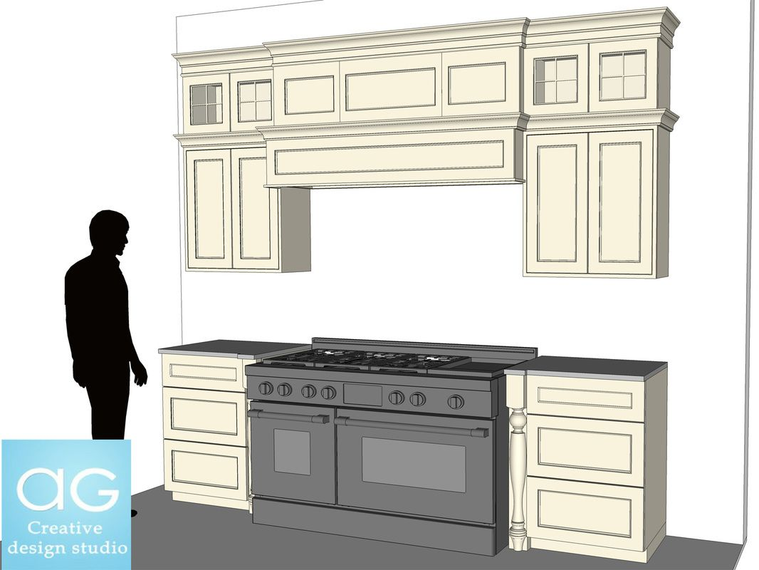 Free Interior Kitchen Wall Counters Sketchup Model 1 Kitchen 3d Model Interior Architecture Design Sketchup Model