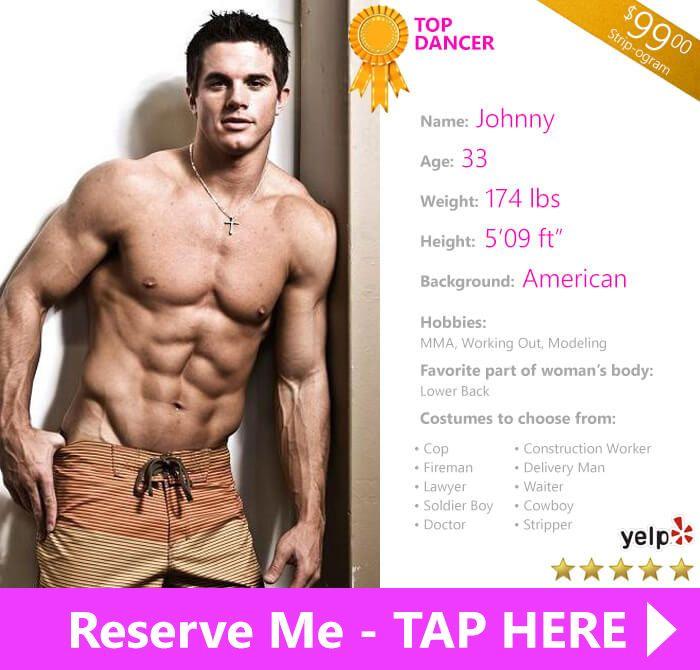 stripper orange county male