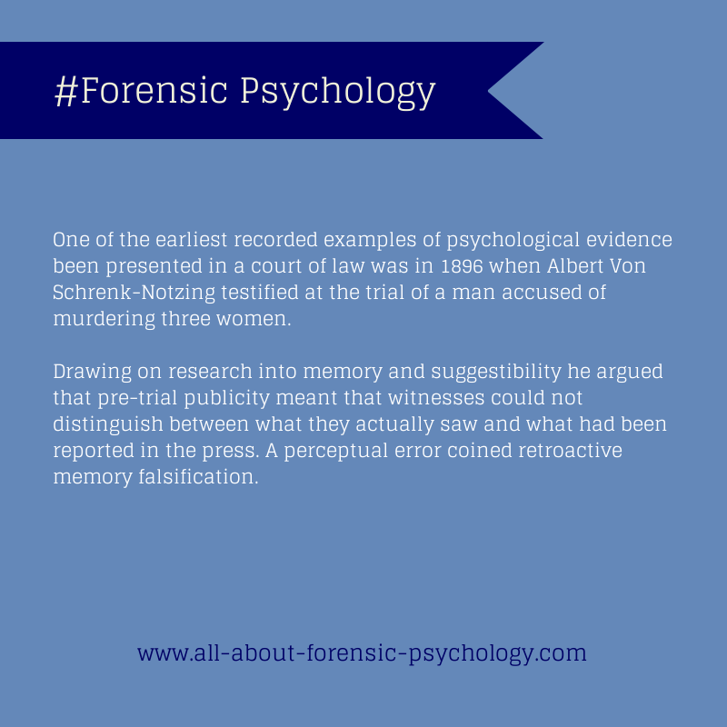 All About Forensic Psychology Forensics Psychology Forensic Psychology