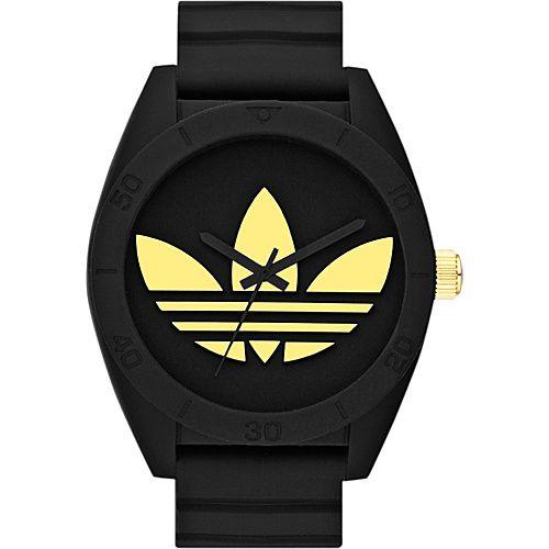 #AdidasOriginalsWatches, #FashionAccessories, #Watches - adidas originals Watches Santiago Black and Gold - adidas originals Watches Watches
