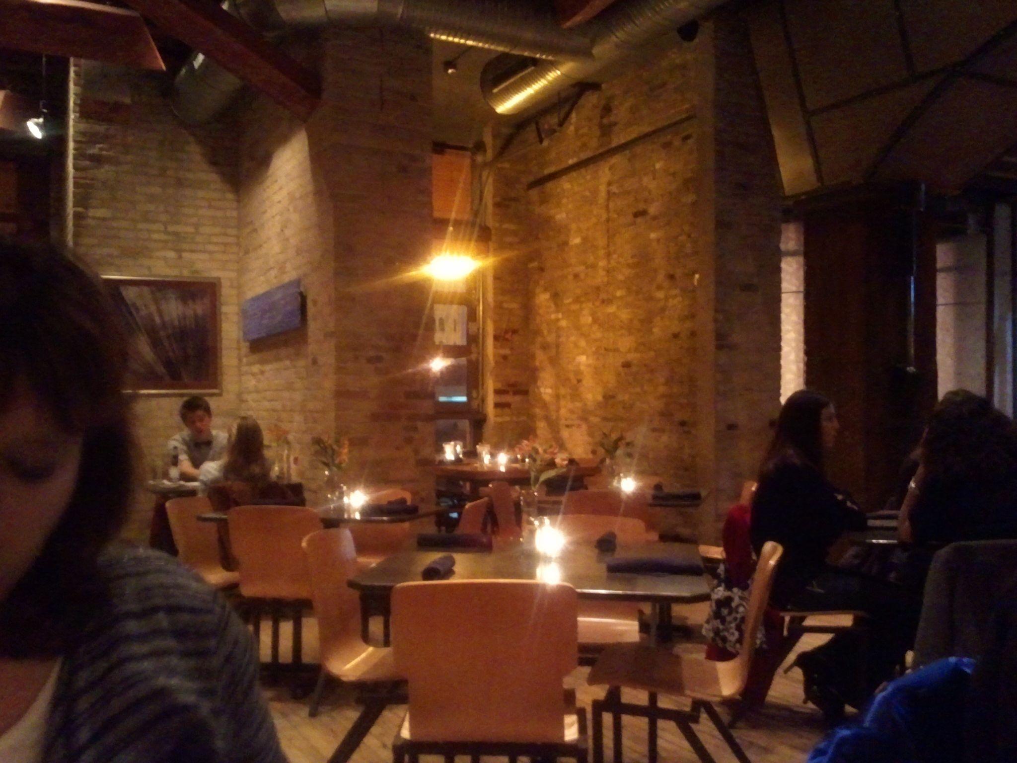 Interior Of The Water Buffalo Restaurant In Milwaukee
