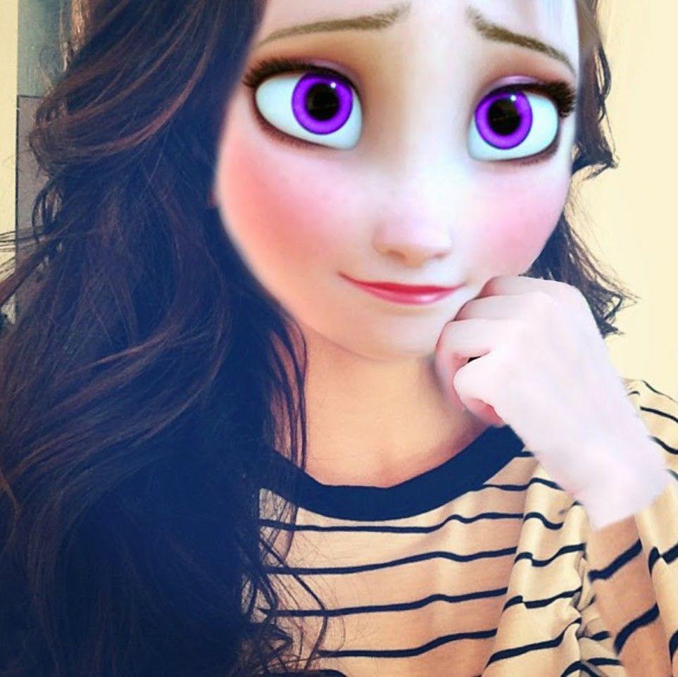 Elsa With Brown Hair Modern Disneyedits Modern Disney Characters Modern Disney Modern Day Disney