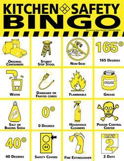 Pin by Lindsey Grayson on Kitchen Safety   Pinterest