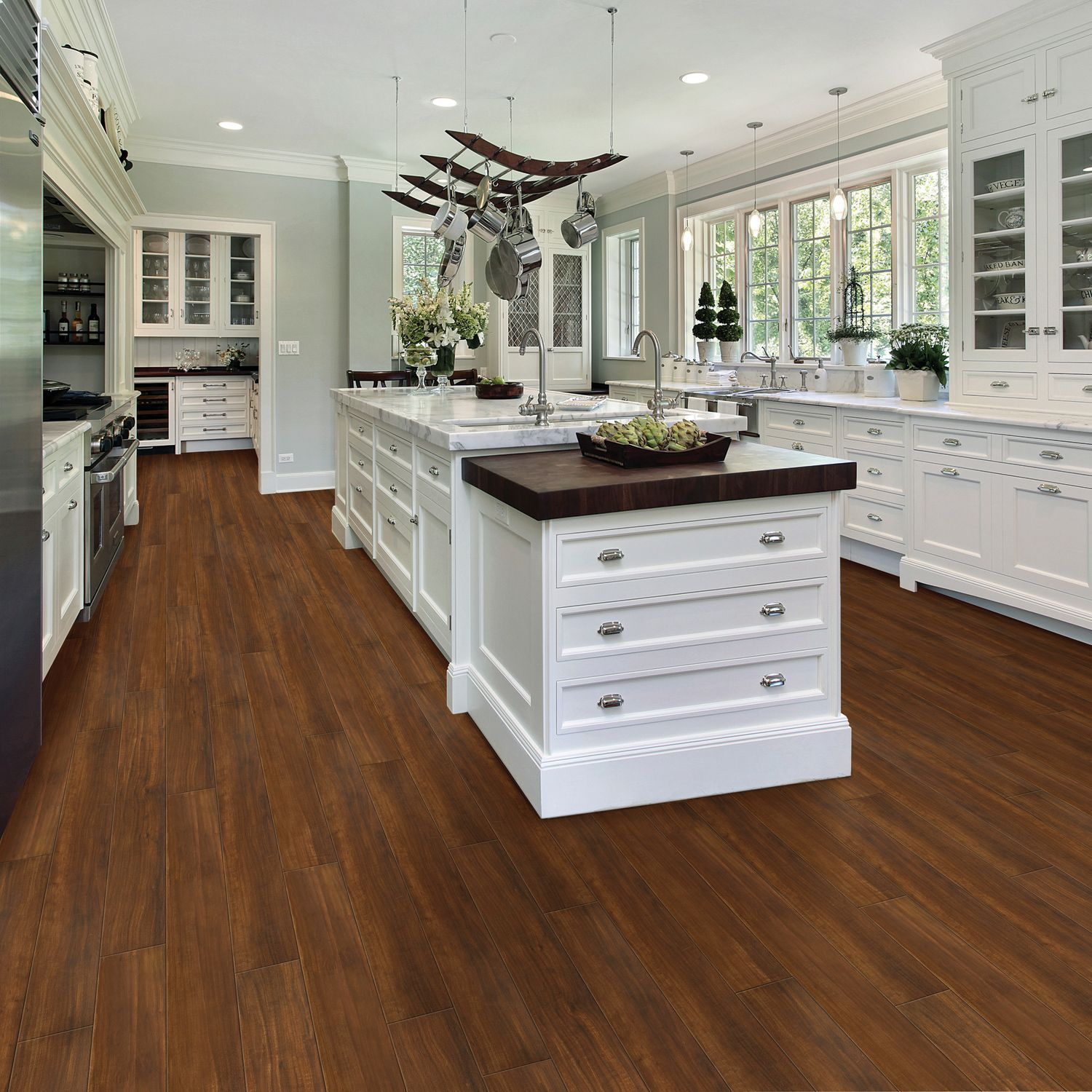 Walnut Floor Kitchen Select Surfaces American Walnut Click Luxury Vinyl Plank Flooring