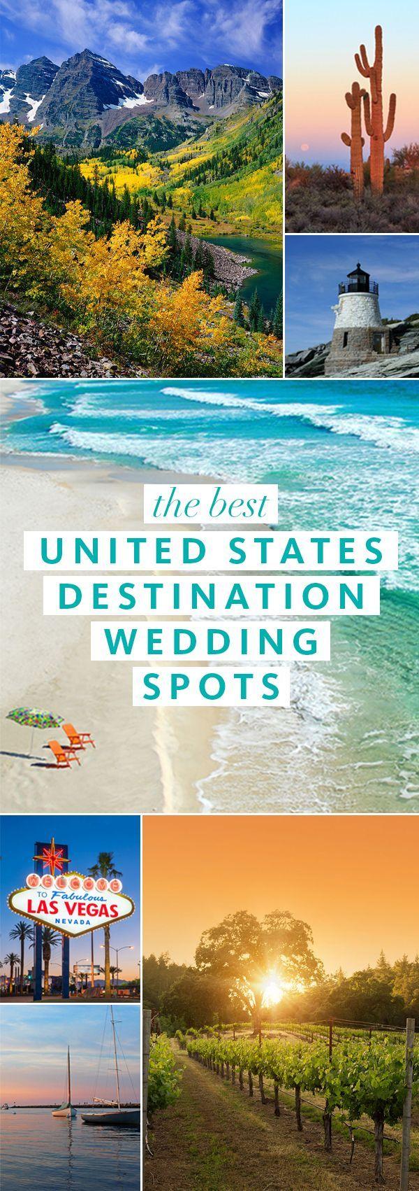 Best United States Destination Wedding Spots