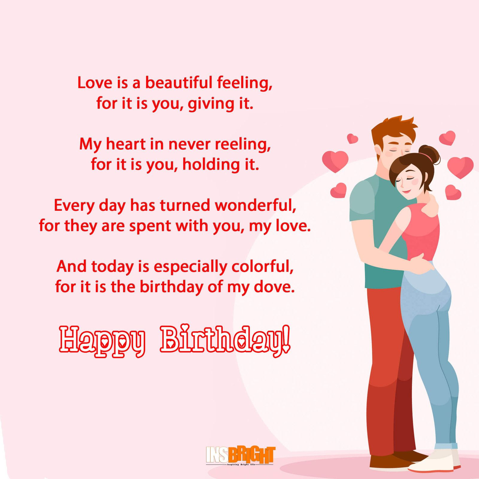 10 Romantic Happy Birthday Poems For Wife With Love From Wife Birthday Quotes Birthday Wish For Husband Birthday Poems