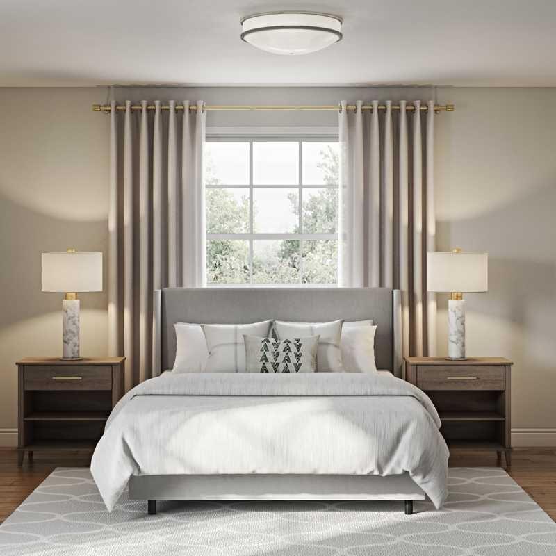 Contemporary Industrial Bedroom Design By Havenly Interior Designer Merna In 2021 Interior Design Online Interior Design Industrial Bedroom Design