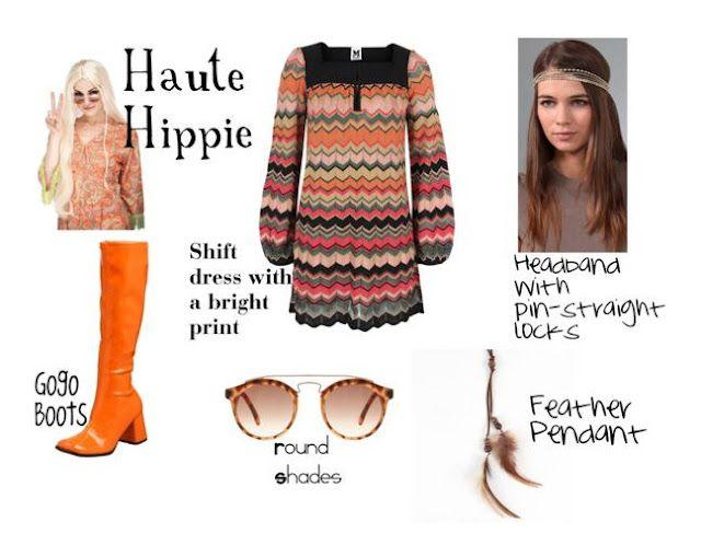 DIY #Halloween #Costume Haute #Hippie 70\u0027s party Pinterest