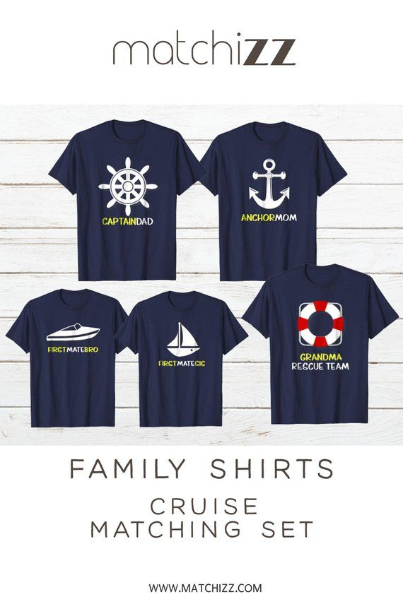 80ff6b21 FAMILY CRUISE SHIRTS Gift Vacation Matching Cruising Dad Mom Son Daughter  Boat Sailing Family Vacati