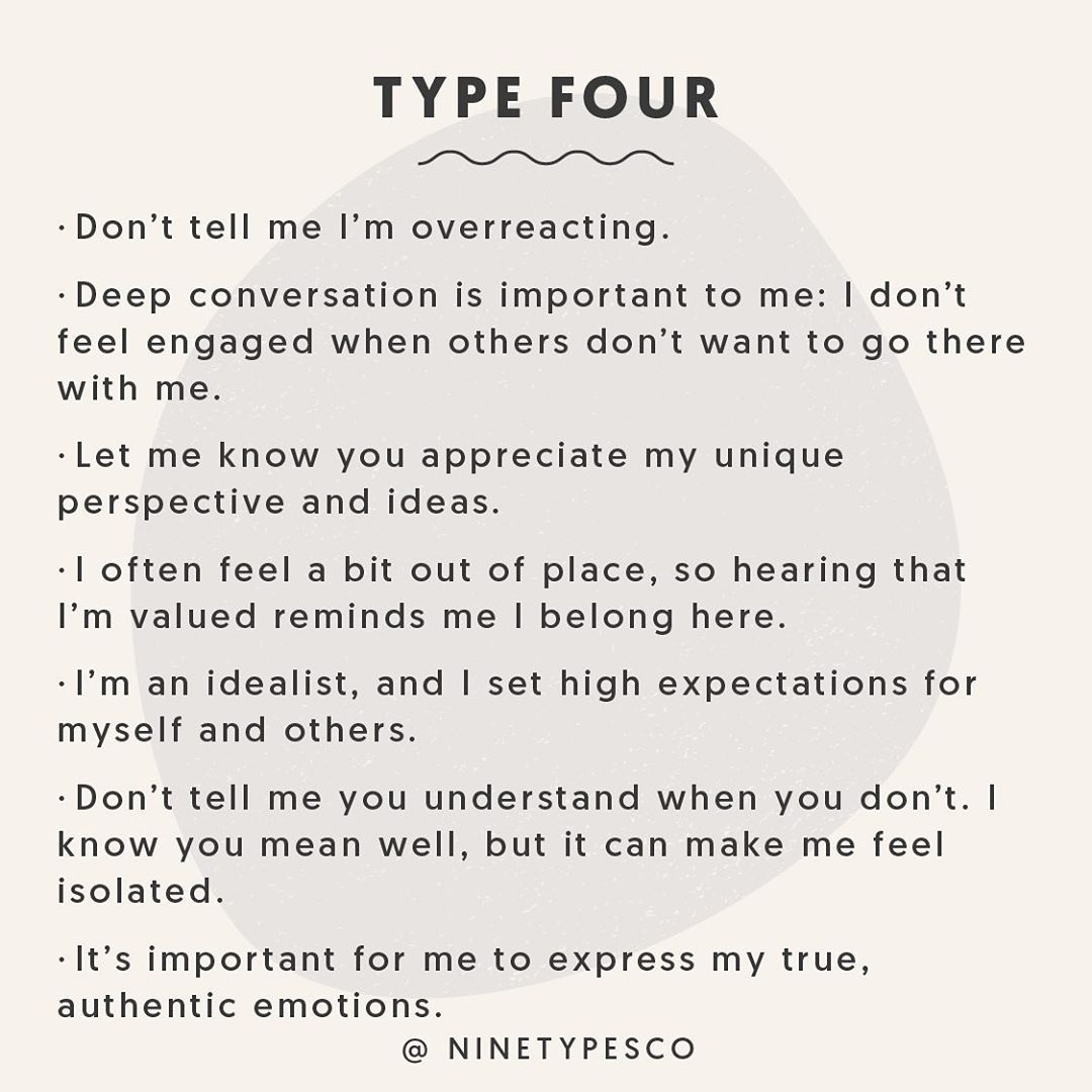 Pin By Lindsay Williams On Enneagram 4w5 Type 4 Enneagram