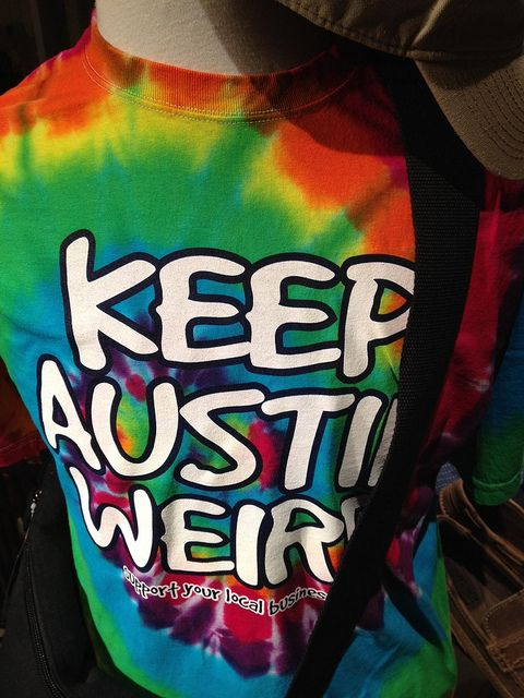 They're doing just fine with this one - don't think SXSW would exist without Austin's core oddity.
