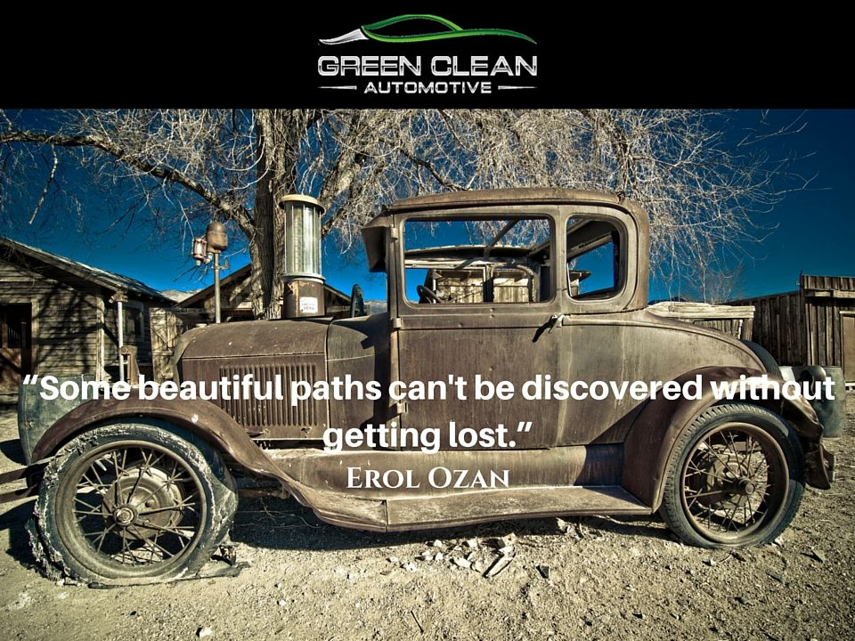 Some Beautiful Paths Can T Be Discovered Without Getting Lost Adventure Path Trail Voyage Journey Earth Cars Au Abandoned Cars Rusty Cars Classic Cars