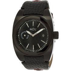 Nice - Menco W1040men023001 (men's) - Black Leather/black