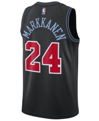 0c932159b85 Nike Lauri Markkanen Chicago Bulls City Edition Swingman Jersey 2018 ...