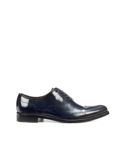 Blue shoes will be perfect with black/charcoal/navy trousers and perhaps blue jeans