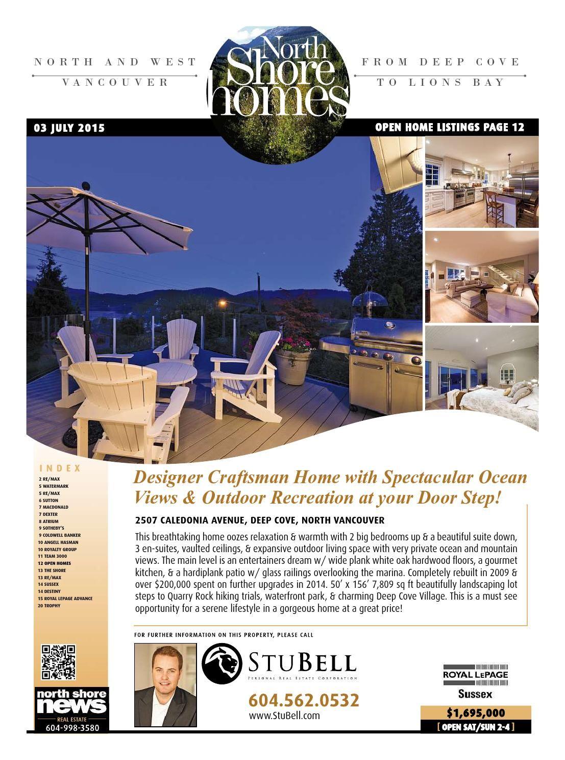 North Shore Homes Real Estate July 3 2015