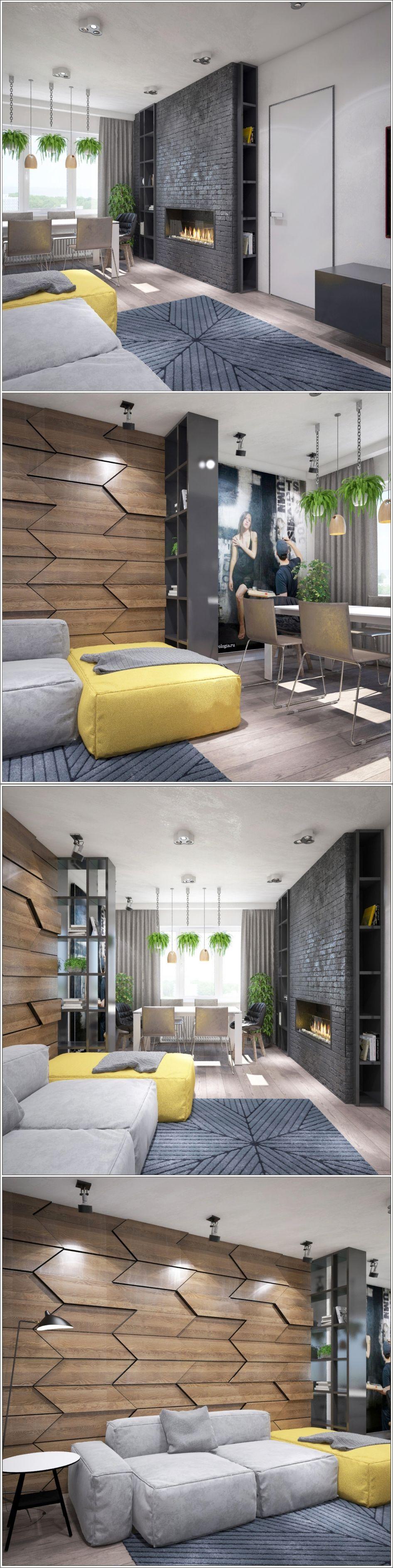 Интерьер гостиной в маленькой квартире: 150 оригинальных фото