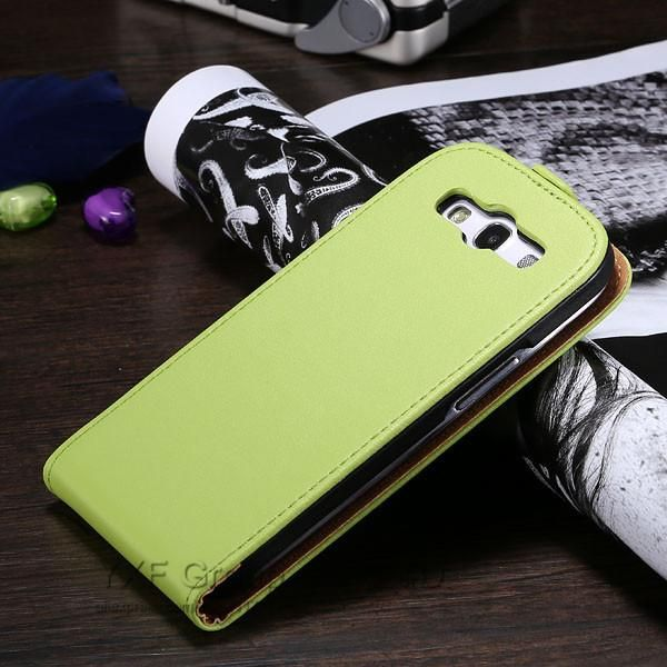 Genuine Leather Case for Samsung Galaxy S3 Luxury Korean Style Phone Bag Cases for S3 SIII i9300 Flip Cover For Galaxy S3 sc012T