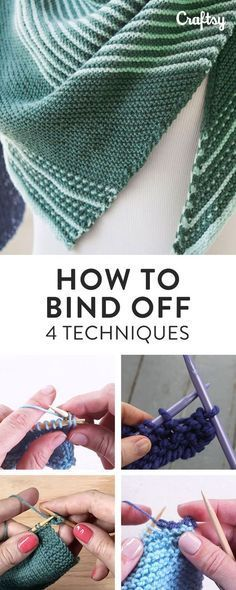 How to Bind Off: Knitting Tutorials for 4 Different Bind-Offs ...