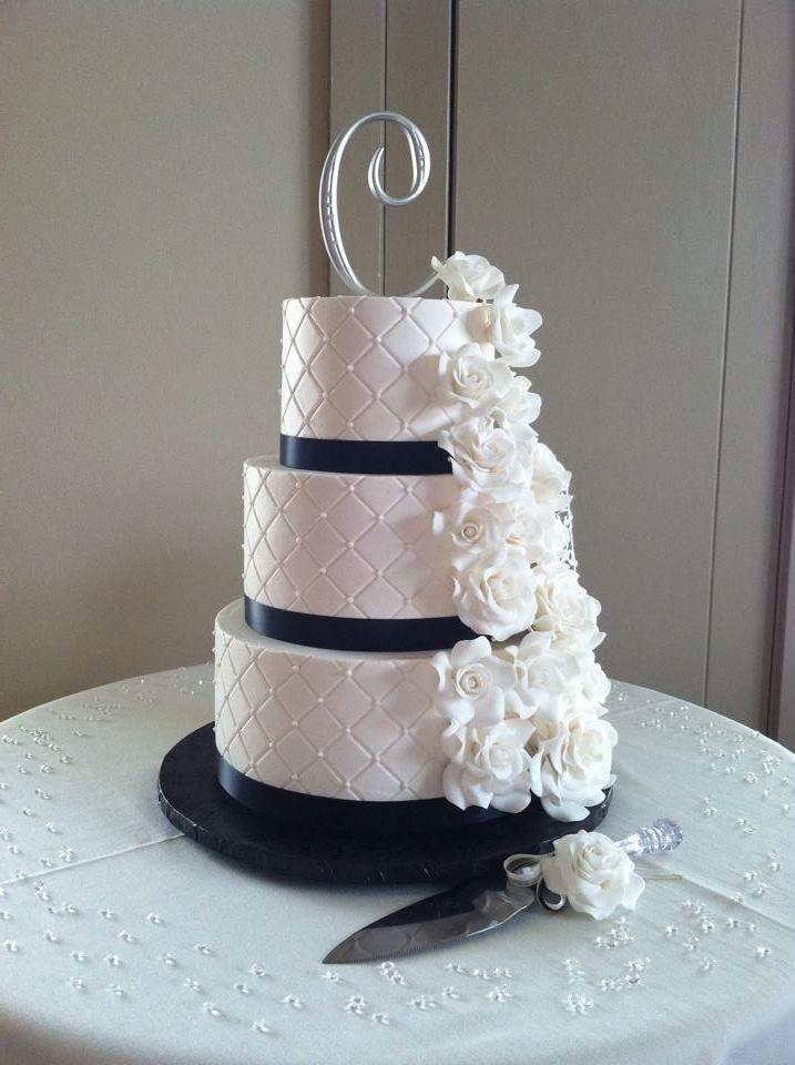 46+ Diamond ribbon for wedding cakes ideas