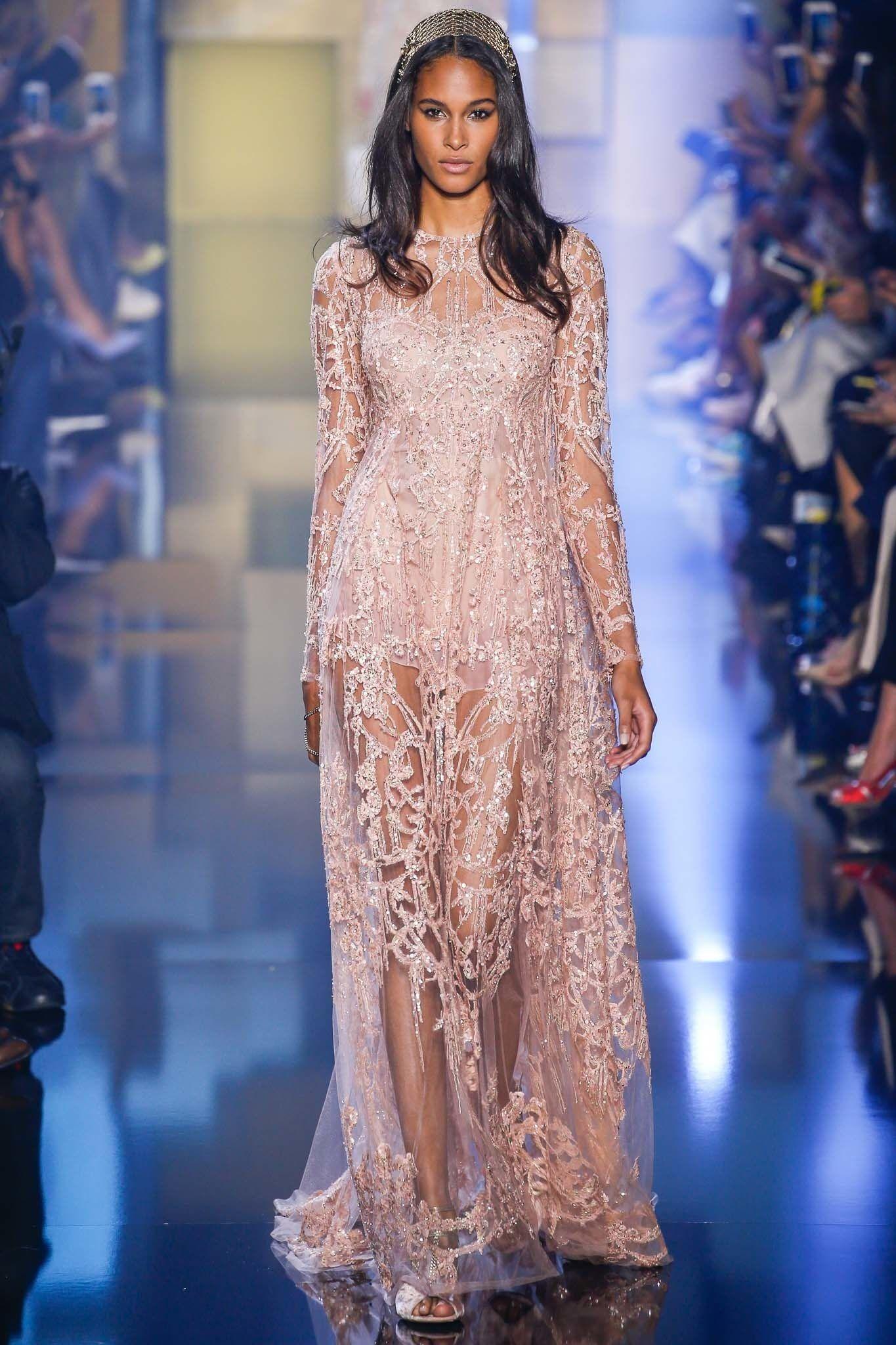 Elie Saab Fall 2015 Couture Fashion Show | Pinterest | Grecia