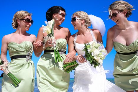 LOVE bridesmaids dresses. Maggie Sottero Wedding Gown. (Lucy Dylan Weddings)