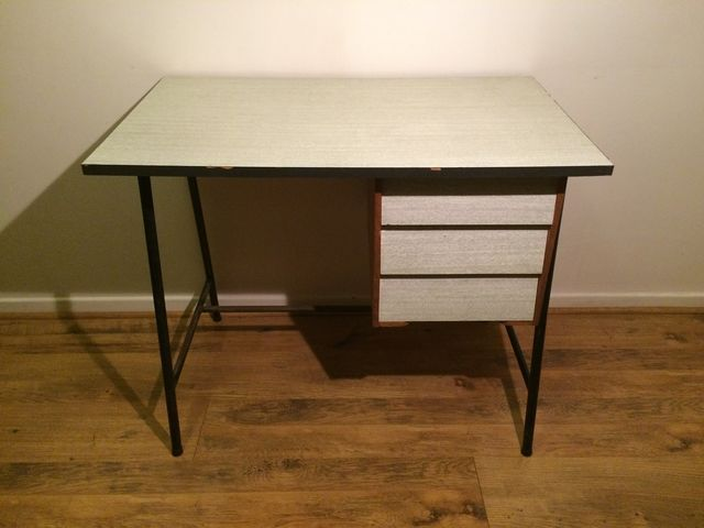 Bureau formica style hitier années j ai trouvé ma table