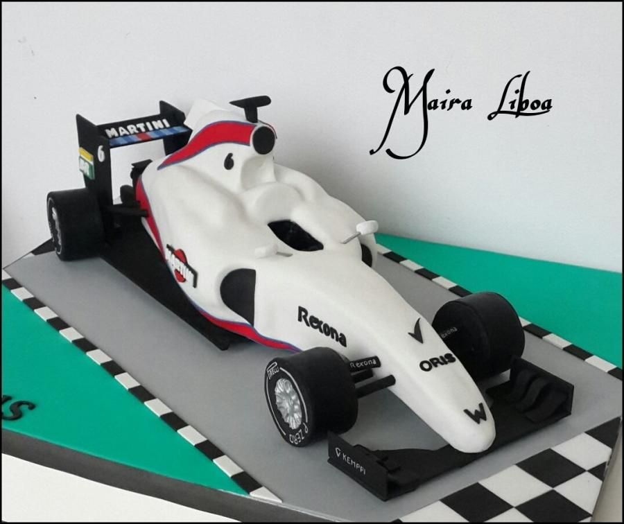 Formula 1 Williams Martini by Maira Liboa                                                                                                                                                     More