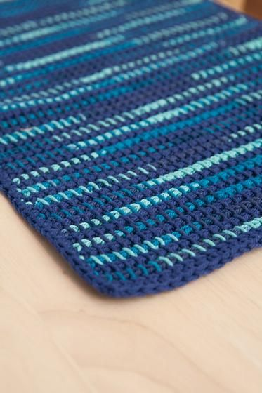 What The Heck Home Dec Tunsian Crochet Placemat And Coasters