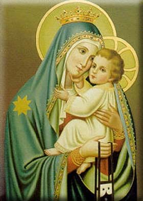The Mother of God and her Child-God Jesus