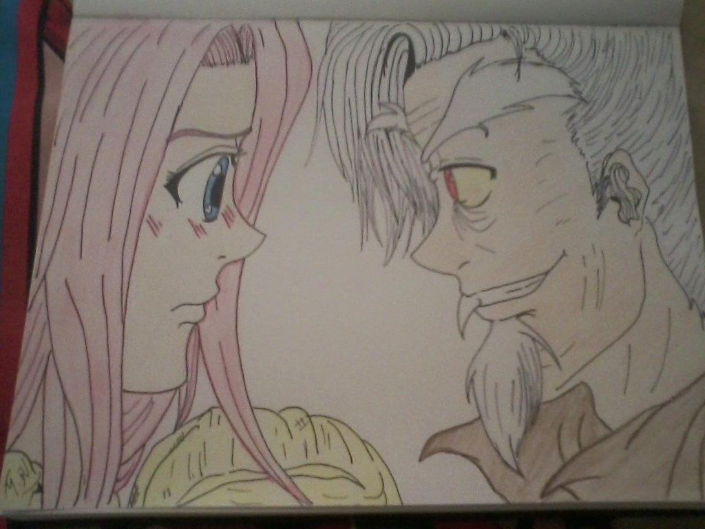 Fluttershy and Discord by yuna500 on DeviantArt