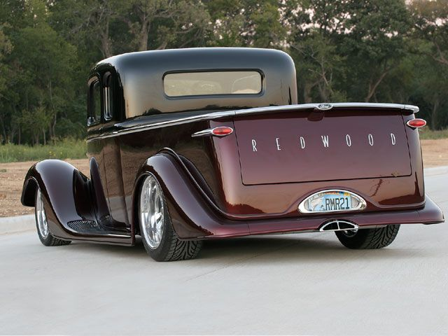 1936 Ford Custom Redwood With Envy Hot Rod Network Jrodz Mean
