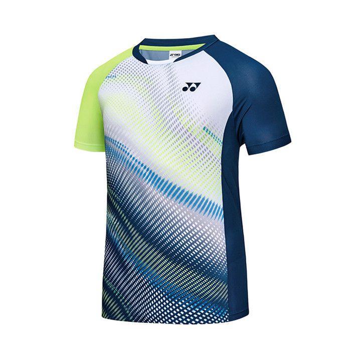8c3ffe45413b Yonex 2018 S S Collection Men s Badminton Round T-Shirts White NWT  81TS045MWH  YONEX