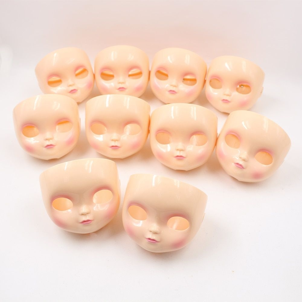 """Takara 12/"""" Neo Blythe RBL Tanned black skin doll without hair skin head Factory"""