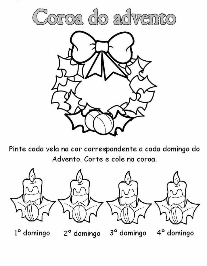Pin De Dilma Do Carmo Tavares Em Advento Coroa Do Advento
