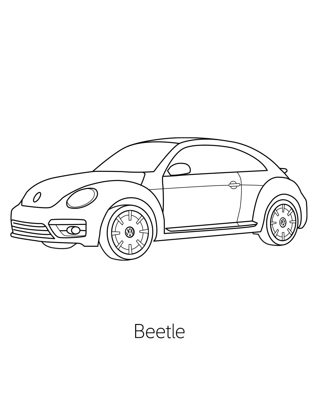 Pin On Vw Coloring Book