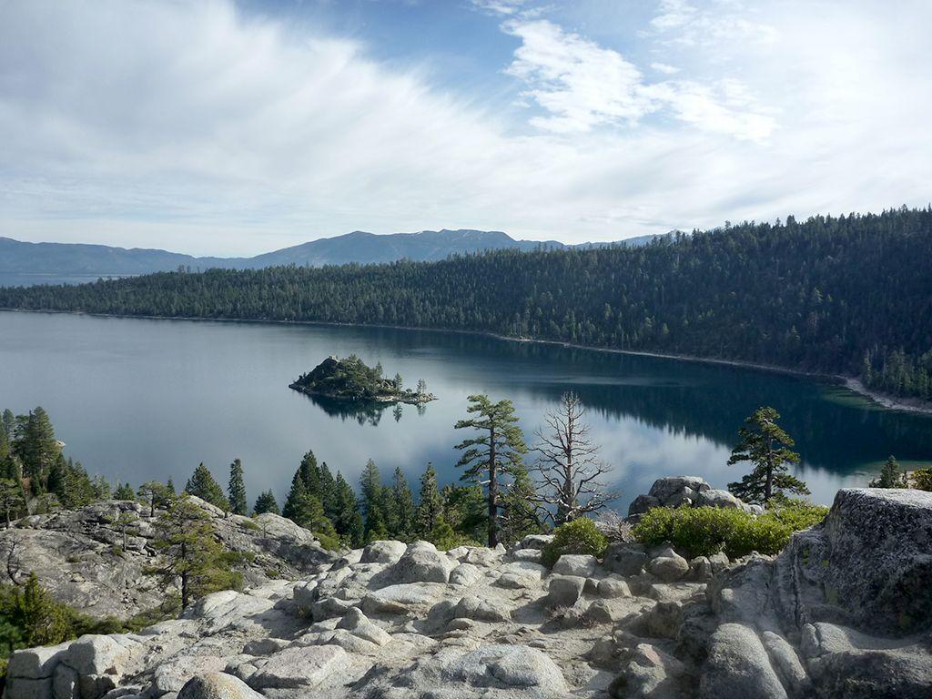 Above Lake Tahoe