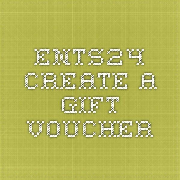 Ents24 - Create a Gift Voucher MAKE Pinterest - make voucher