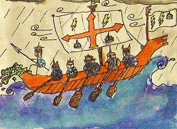 Vikings Pen and Ink