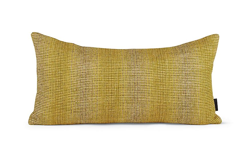 Maharam Pillow In Wool Striae Yellow 11 X 21 At Dwr In 2020 Pillows Throw Pillows Wool