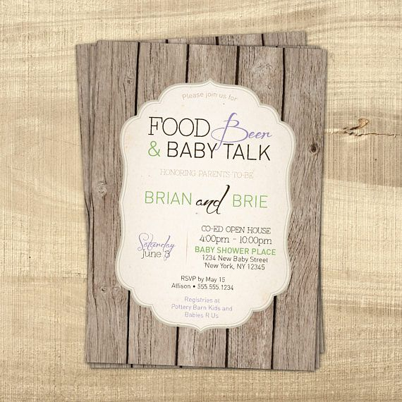 This listing is for a high resolution digital file {YOU PRINT IT} of the pictured co-ed gender neutral baby shower invitation in JPEG (or PDF) format. This is a 5x7 Co-ed is optional. I can add additional information or specific instructions for guests. Check out the matching