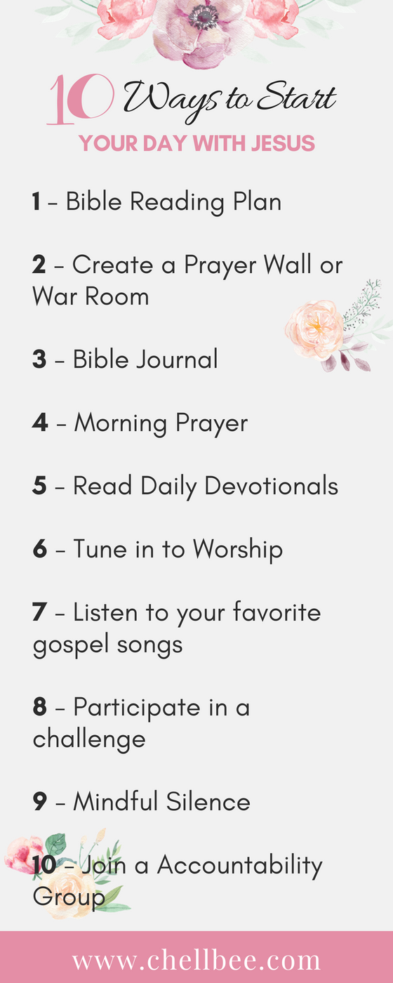 Image Credit: CreateHer Stock I am so excited to share my 10 Ways to Start Your Day with Jesusvideo! The key to a great day is in how...