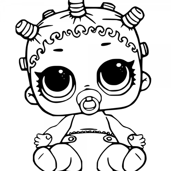 Lol Surprise Doll Coloring Pages Lil Roller Sk8ter Unicorn Coloring Pages Lol Dolls Emoji Coloring Pages