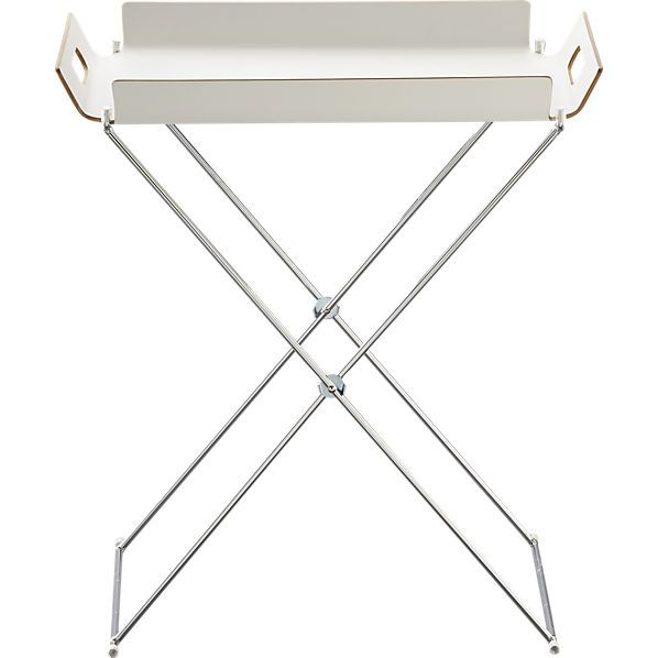 Cheap And Lovely Tray Table From CB2.