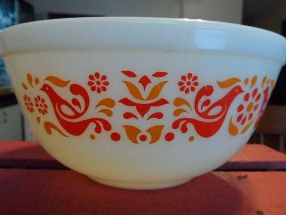 Vintage Pyrex Friendship Mixing Bowl #403 2 1/2 Qt | Mixing bowls ...