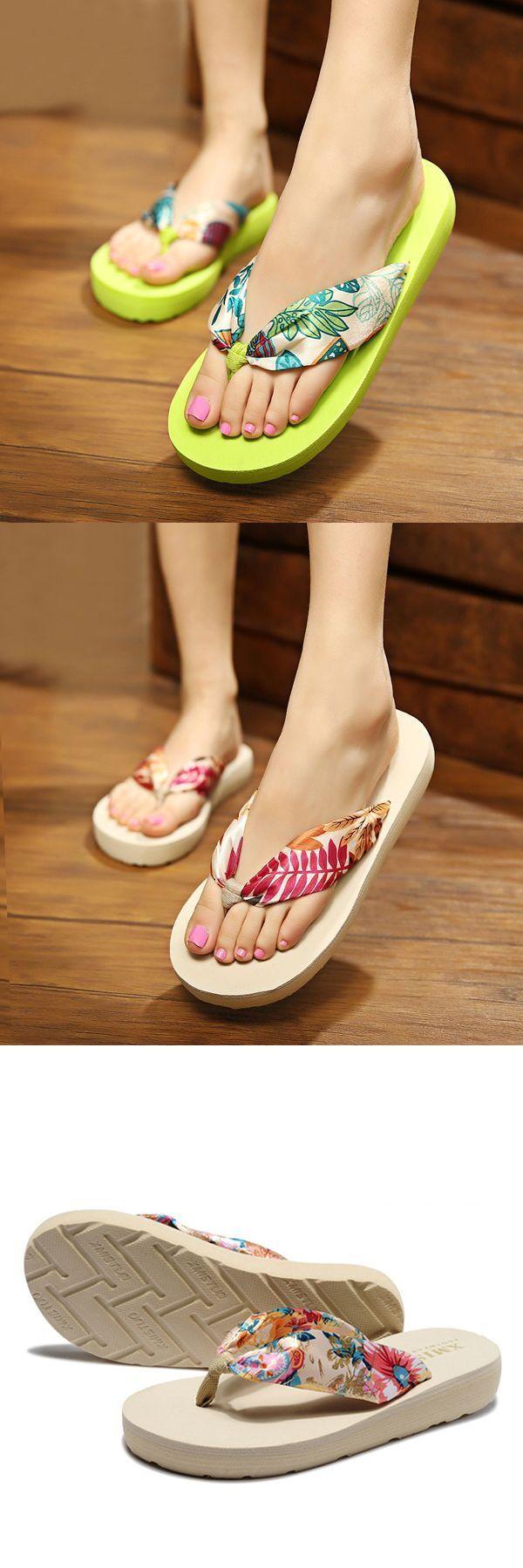 408cb06aa110 Big size summer women beach slippers bohemia flip flops breathable silk slippers  slippers o neil  slippers  knitting  pattern  slippers  of  spider ...