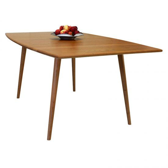 Addison Boat Top Dining Table Solid 36 X 42 60