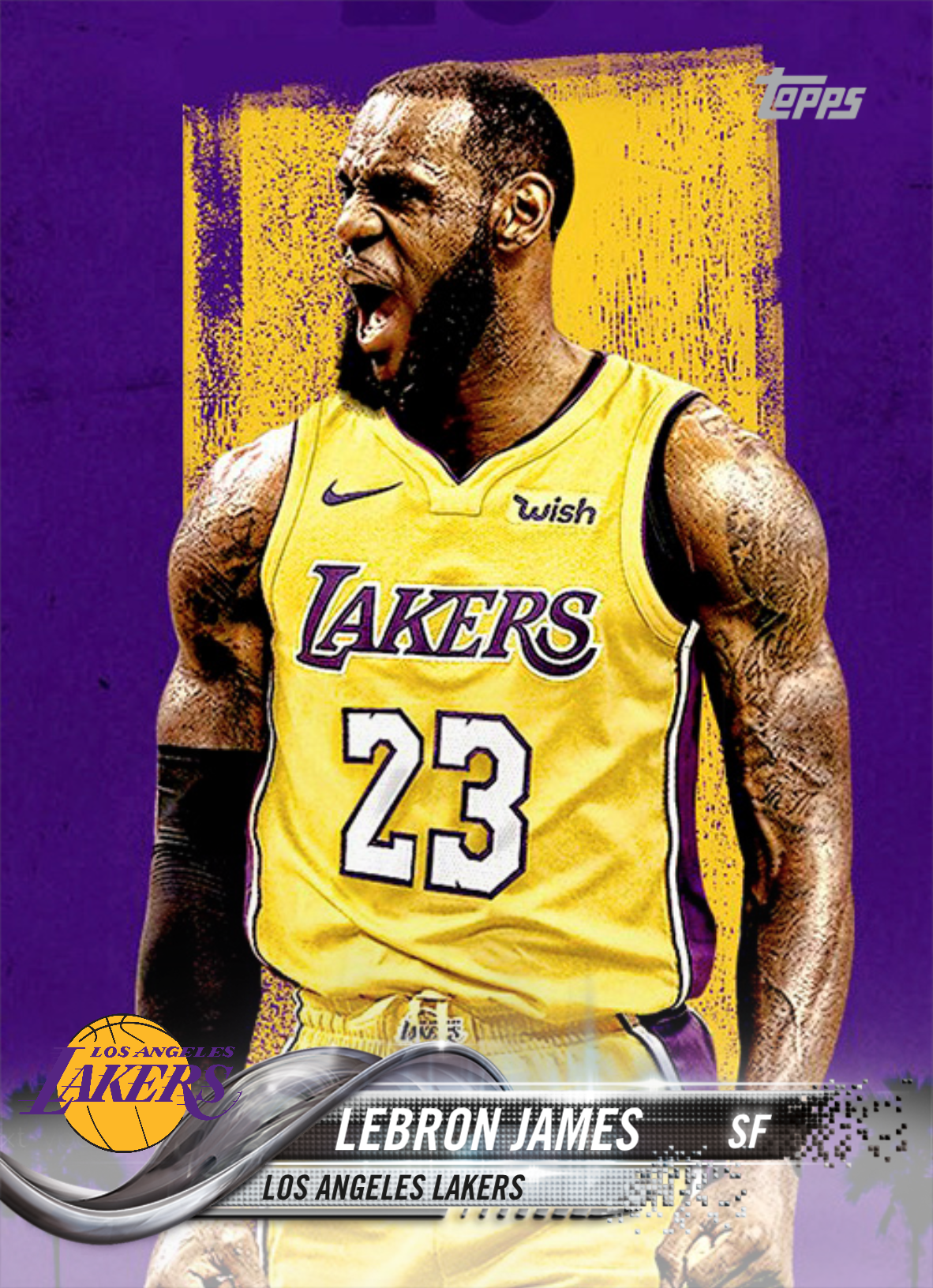 a062d5533d7 LeBron James Lakers #BasketballMoves | Lebron James | Basketball ...