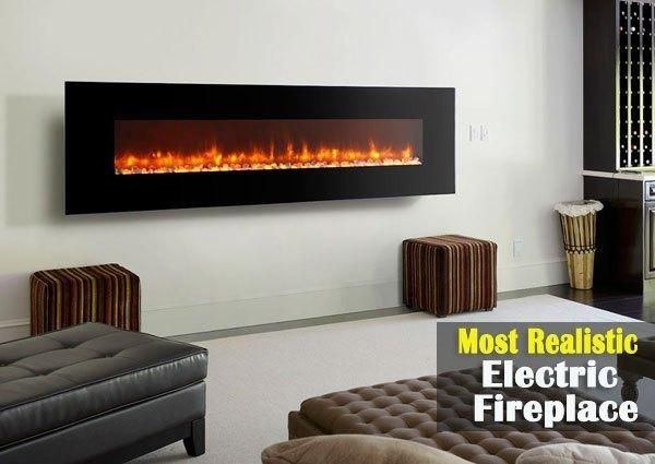 Top 10 Best Most Realistic Electric Fireplace For Home In 2019