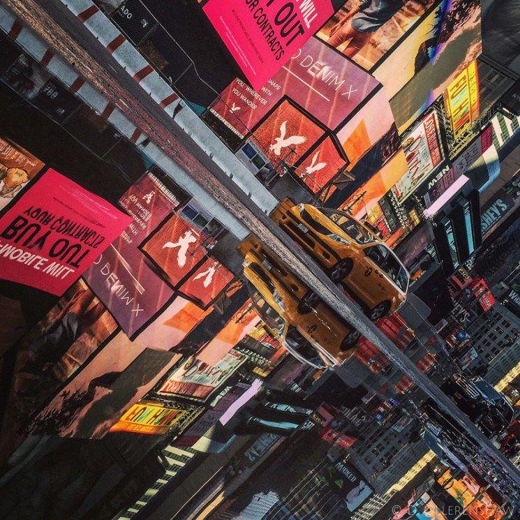 Fotografias de Reflexo nas Ruas por Darlene Ollerenshaw - por clube do design